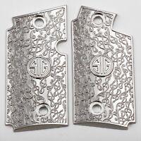Fits Sig Sauer P238 Grips Sig P238 Metal grips Nickel sig sauer grips Sig Screws