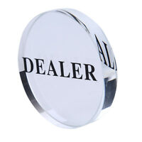 1PC 58mm Pressing Poker Cards Guard Poker Dealer Button Poker Chip EB