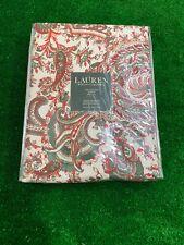 Ralph Lauren Patmosan Paisley Holly 60x84 Oblong Tablecloth
