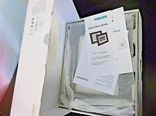 """Digital Photo Frame 7"""" Brown LCD Philips New Wood Panel SPF3470T/G7 Decor Wall"""