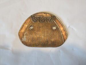 Stutz Brass Radiator Emblem Badge - Original