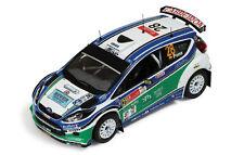 1/43 Ford Fiesta RS S2000 ganador SWRC Rally México 2010 Xavier Pons