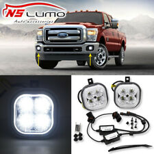 Led Fog Light Kit For 1999-2016 Ford F250 F350 F450 F550 2001-2004 Excursion 2Pc