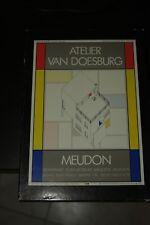 Kit modello in scala  1:50 del laboratorio dell'artista Van Doesburg