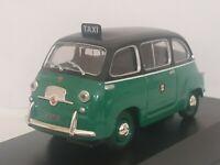 1/43 FIAT 600 MULTIPLA TAXI MILANO 1958 COCHE METAL A ESCALA SCALE CAR DIECAST