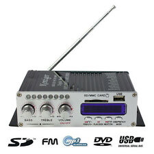 2CH 200W Power Mini HiFi Audio Stereo AMP Amplifier For ipod Car Home MP3 FM BL