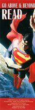 Alex Ross Superman Bookmark BRAND NEW/MINT CONDITION DC Comics Go Justice League