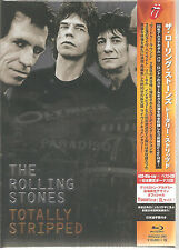 "ROLLING STONES ""Totally Stripped"" 4BLU-RAY 2CD + SHIRT XL Japan Box"