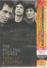 "Rolling stones ""totally stripped"" 4blu-ray 2cd + shirt xl Japon BOX"