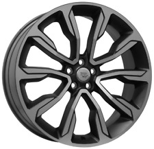22 inch x 9 VENICE SET of wheels for RANGE ROVER VELAR - OEM COMPATIBLE (ITALY)