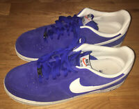 Nike Air Force 1 Blazer Pack Hyper Sail Blue Suede 2013 488298-414 Sz. 11