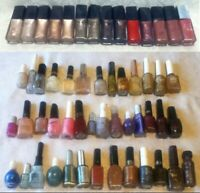 54 Nail Polish Bottles Pearl Pink Purple Red Green Blue Gold Chrome Metal Art