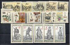 Tschechoslowakei - 1981   2598/02+ 2630/4+ 2742/6**