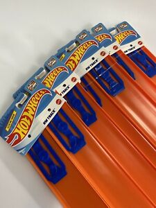 "Hot Wheels New 10 Straight Track Pieces, 24"" Long, W/ Connectors FAST SHIPPING"