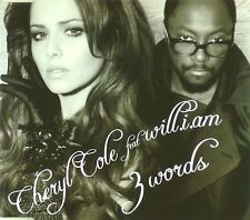 Maxi CD - Cheryl Cole - 3 Words - #A2294