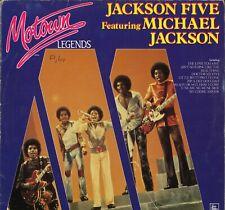 Michael Jackson & The Jackson 5 Motown Legends (LP Allemagne - 1984)
