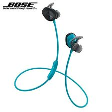 Bose® SoundSport™ Sweat&Weather-Resistant Wireless In-Ear Headphones - Aqua Blue