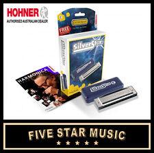 Beginners Harmonica Hohner Silver Star 'C' Key - NEW!!! 504C Harp
