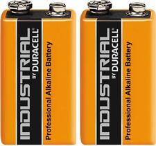 2 Duracell 9V PP3 Industrial Procell Batteries Smoke Alarm LR22 6LR61 MN1604