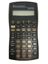 Texas Instruments Ba Ii Plus Financial Calculator Preowned Works
