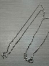 """14K white gold necklace, 2.6g weight, 16"""" long, good cond"""
