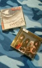 Motley Crue cd album Universal Masters Collection & Vince Neil album carved in