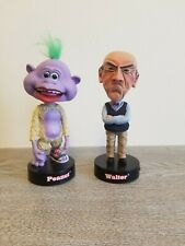 Lot Of 2 Jeff Dunham Talking Bobbleheads (Walter and Peanut)
