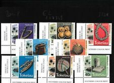 Tokelau 201-208 (completa edizione) MNH Eckrandstücke (103321