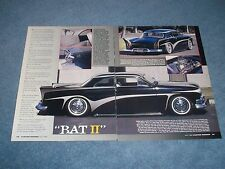 """1951 Ford 2-Door Sedan Bill Hines Custom Led Sled Article """"Bat II"""""""