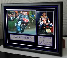 """DAVID JEFFERIES Framed Canvas Tribute """" Great Gift """""""