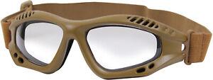 Ventec Anti-Fog Tactical Goggles ANSI-Z87-1 RATED UV 400 Shatterproof Lenses