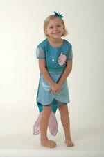 Lovely Lea Kinder Kostüm Meerjungfrau Wasser Mädchen blau rosa Fisch Kleid NEU