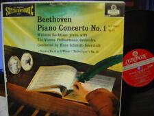 WILHELM BACKHAUS / Beethoven Piano Concerto No.1 / LONDON FFSS WB BB CS 6099