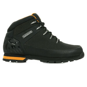 Chaussures Boots Timberland homme Euro Sprint Fabric Waterproof taille Noir