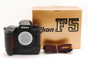 """""""N.MINT"""" Nikon F5 35mm SLR Film Camera Body w/Strap From Japan"""