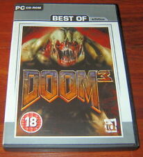 Doom 3 game, for PC DVD. Activision Best of Doom3