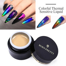 BORN PRETTY Thermochromic Liquid Color Changing UV Soak Off Gel Nail Polish Tips
