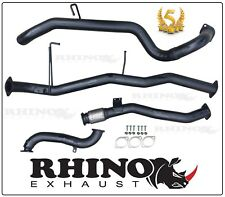 NISSAN PATROL GU 3.0L WAGON 3 INCH TURBO BACK EXHAUST SYSTEM [RHINO EXHAUST]