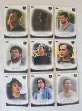 Topps Walking Dead Season 7 In Memoriam Complete Trading Card Chase Set