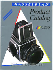 Hasselblad 1987/88 Product Catalogue 2000FCW 500 ELX C/M SWC/M More Years Listed