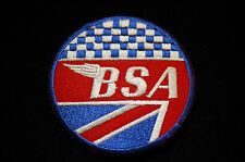 BSA - Iron/Sew on Biker Patch No634
