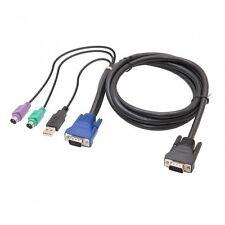 Syba SY-CAB50086 6ft USB/PS2 Combo KVM cable