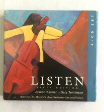 Listen (Sixth Edition) (6-CD set, Bedford / St.-Martin's) Classical Compilation