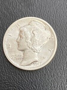 1917 Mercury Dime Choice Uncirulated