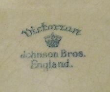 Johnson Bros Victorian Pattern plate lovely simple design 8 7/8ins diameter