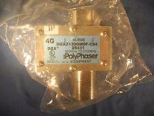 PolyPhaser DGXZ+30DMDF-CS4 EMP Lightning Surge Coax Receiver Protector 28431 New