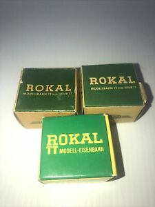 Rokal TT Vintage NIB Momentary Contact Remote Control For Switches - Lot Of 3