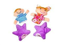Twinkle Twinkle Little Star Títeres De Dedo Cuentos De Hadas Nursery Rhymes Juguete Suave