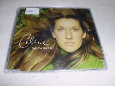 Celine Dion -  That's the way it is    Maxi CD - OVP