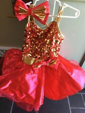 Child's Weissman Dance Costume size SC Style number 9429